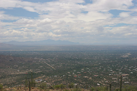 Overlook of East Tucson