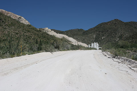 Imerys Marble mine in Sahuarita, Arizona