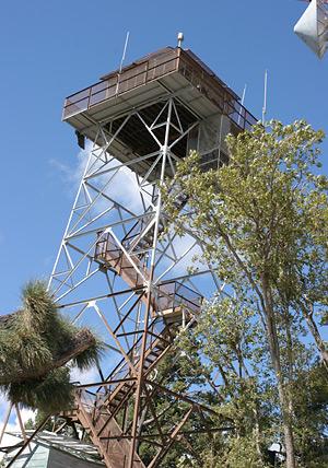 Fire observation tower on Mt. Bigelow, Arizona