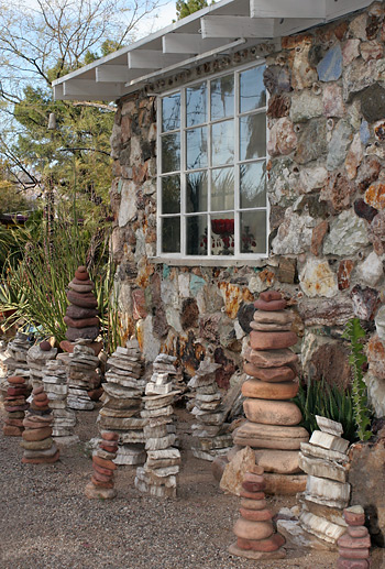 Harrison Yocum's house in Tucson, Arizona