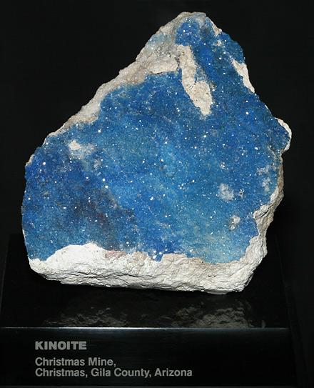 Kinoite, Hydrated Calcium Copper Silicate Ca2Cu2Si3O8(OH)4