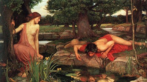Echo and Narcissus, painted in 1903 by John William Waterhouse