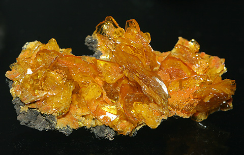 Wulfenite, Lead Molybdate Pb[MoO4]
