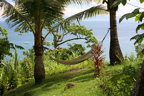 Hammock at Las Caletas Lodge, Costa Rica