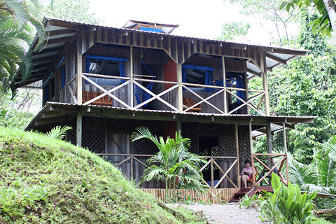 Our cabin at Las Caletas Lodge, Costa Rica